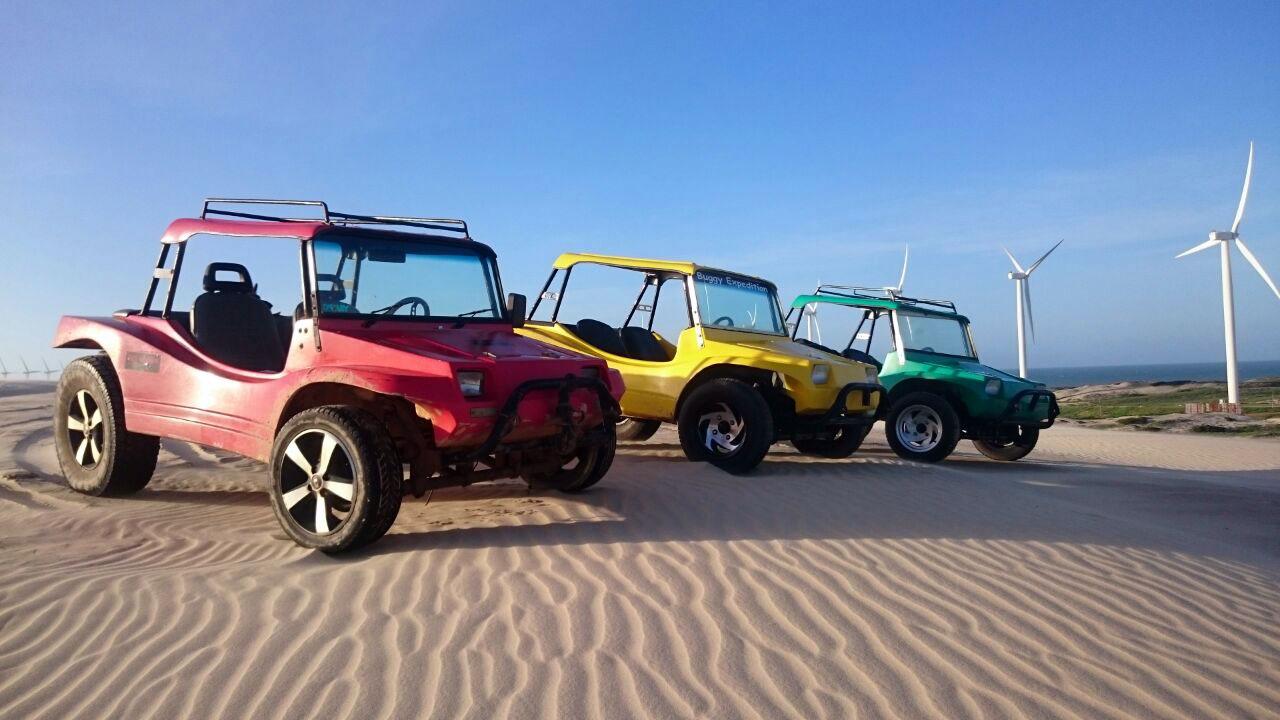 Buggys dans les dunes